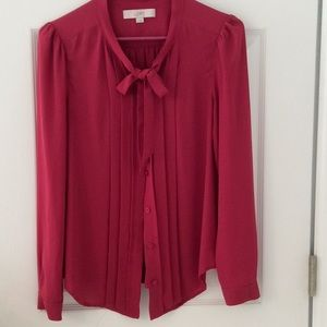 Button up blouse from Ann Taylor Loft